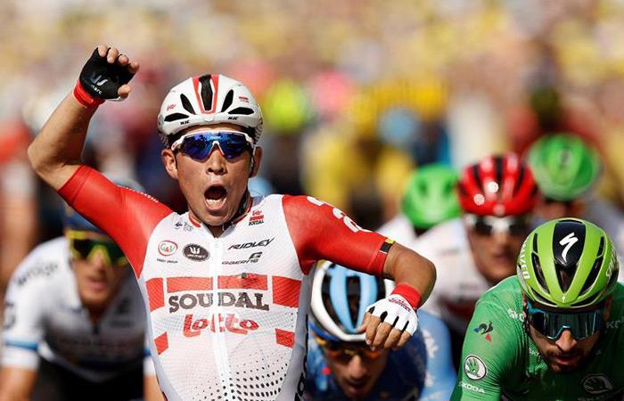 Tour de Francia: Caleb Ewan ganador etapa 16