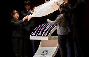 [FOTOS Y VIDEO] ¿Sabes con que materiales se hicieron las medallas de los Olímpicos Tokio 2020?