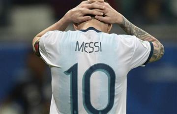 ¿Exagerada? La Conmebol dio a conocer la sanción para Lionel Messi