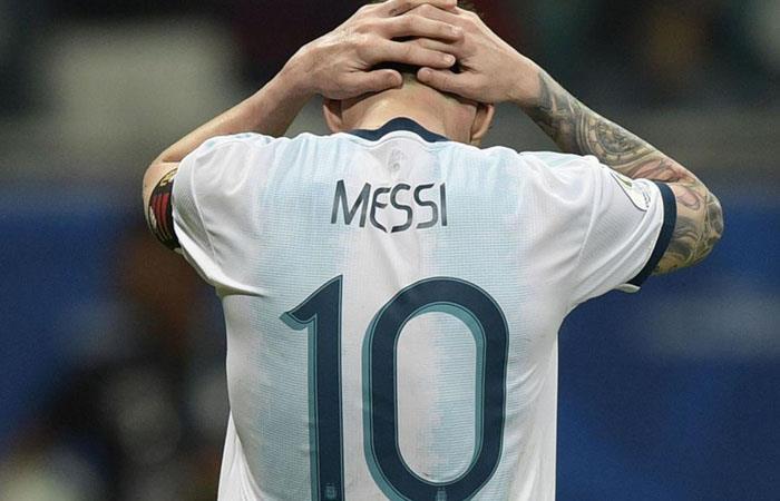 Messi podría recibir más partidos de suspensión por sus declaraciones. Foto: Twitter
