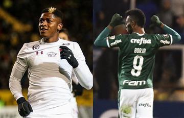 [VIDEO] Yony González y Miguel Borja salvaron a los equipos brasileros en la Copa Sudamericana y la Libertadores