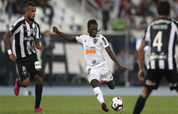 ¡Cuidado Equidad! Yimmi Chará, figura de Atlético Mineiro en la victoria ante Botafogo por la Copa Sudamericana