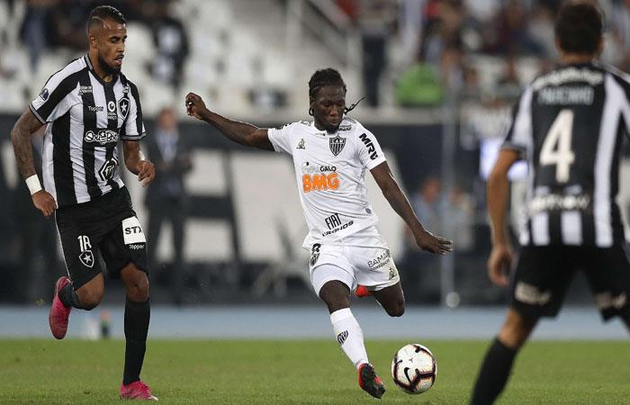 Copa Sudamericana: Atlético Mineiro vencio a Botafogo en la ida de octavos de final