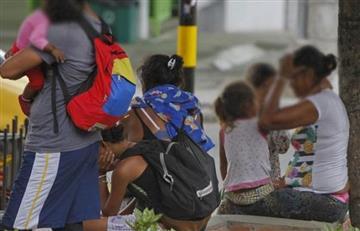 [VIDEO] Autoridades rescatan a 28 niños venezolanos utilizados para mendigar en Bucaramanga