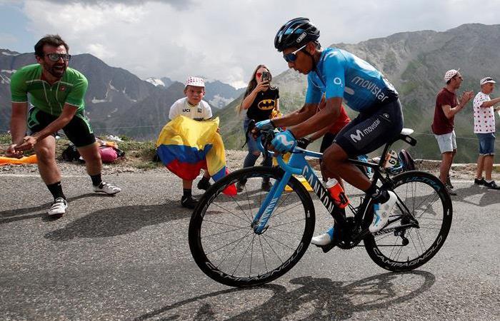 Tour de Francia: Famosos deportistas periodistas felicitan Nairo Quintana ganador etapa 18