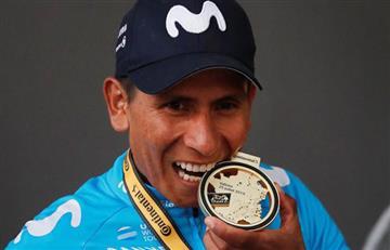 "[VIDEO] ¡Orgullo colombiano! ""Vamos a luchar por subir al podio"", Nairo Quintana"