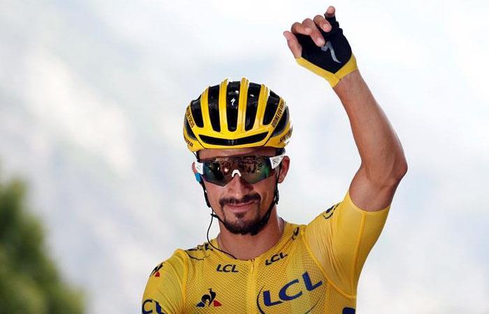 Julian Alaphilippe renuncia al maillot amarillo en el Tour de Francia