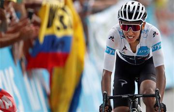 ¡Qué grande! Egan Bernal es nuevo líder del Tour y está a un paso de la gloria