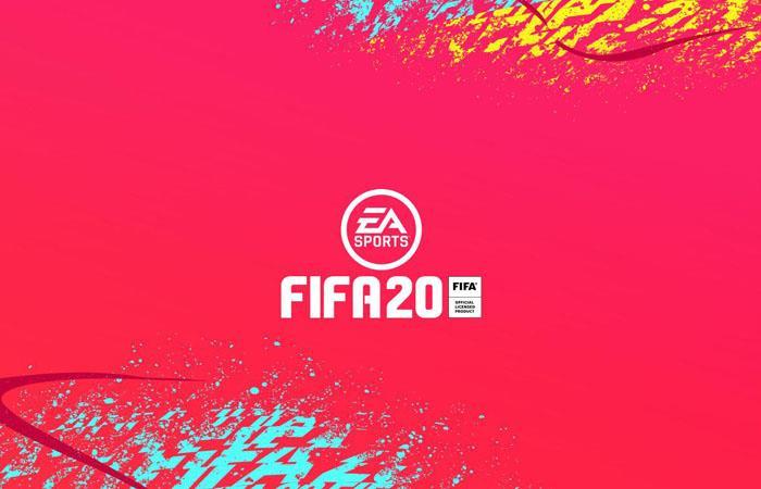 Videojuegos: Hazard y Van Dijk portada fifa 20