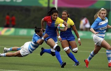 ¡Histórico! Colombia es la sorpresa en rugby femenino en Panamericanos
