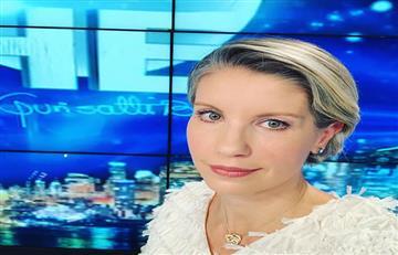 Claudia Gurisatti se despide del noticiero de RCN
