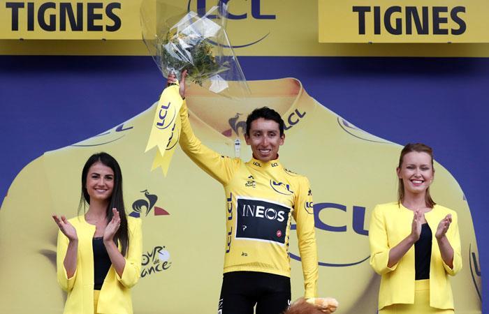 Tour de Francia. Egan Bernal Campeón Tour de Francia
