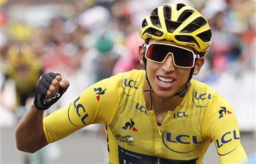 ¡Emocionante! Egan Bernal hace historia en el Tour de Francia