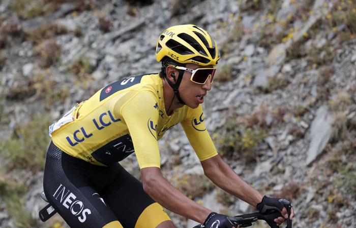 En Paris Egan Bernal se coronará como vencedor del Tour de Francia. Foto: EFE