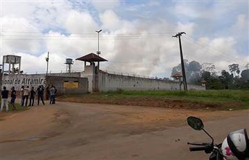 ¡De locura! Así fue el motín en cárcel de Brasil que ya deja 52 muertos