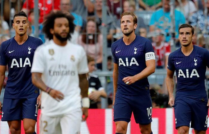 Real Madrid perdió contra Tottenham Copa Audi