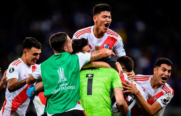 River Plate clasificó a cuartos de final de Copa Libertadores. Foto: EFE
