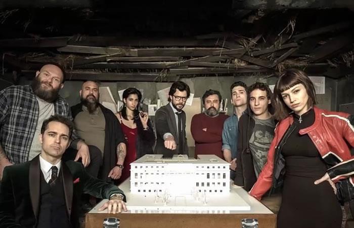 'La Casa de Papel', serie española de Netflix. Foto: Instagram