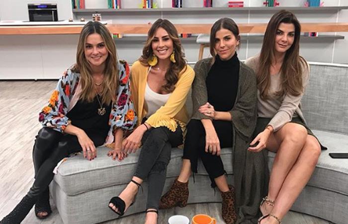 Presentadoras de 'Día a Día' en compañía de Maria Fernanda Yepes. Foto: Instagram