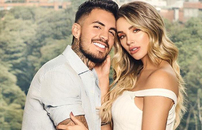 Ya nació el hijo de Melina Ramírez y Mateo Carvajal