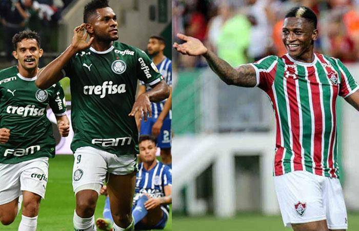 Yony González y Miguel Borja figuras en Sudamericana y Libertadores