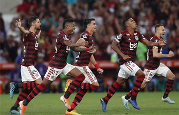 Con Cuéllar y Berrío, Flamengo avanzó a los cuartos de final de la Copa Libertadores