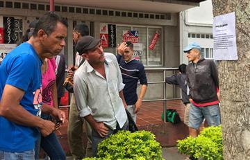 ¡Preocupante panorama! Amenazan a venezolanos y comerciantes colombianos que les den trabajo en Bucaramanga