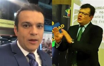 [VIDEO] ¿Mala jugada de Juan Diego Alvira? Hollman Morris dejó sin palabras al periodista