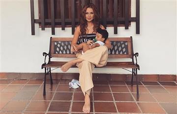 ¡Hermoso! Sara Uribe se tatuó una parte del cuerpo de su hijo