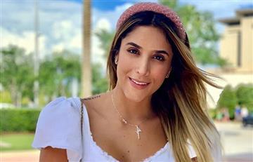 'Jirafa', le dicen a Daniela Ospina y ella lo agradece con una hermosa foto