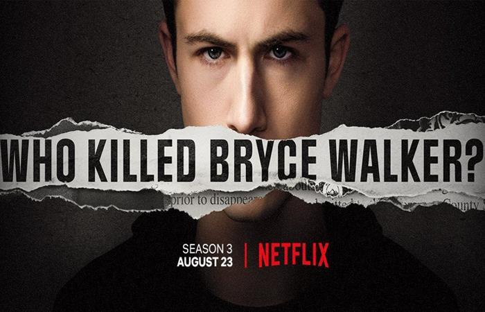 El 23 de agosto se estrena la 3ra temporada de '13 reasons why'. Foto: Twitter