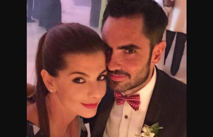 Lincoln Palomeque y Carolina Cruz. Foto: Instagram