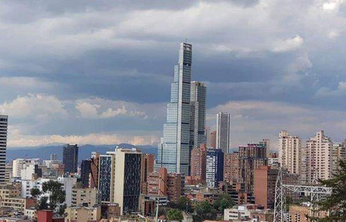 Edificio Bacatá, ubicado en el centro de Bogotá. Foto: Twitter