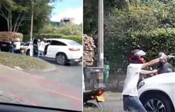 [VIDEO] Así asaltaron a un futbolista colombiano que juega en Europa