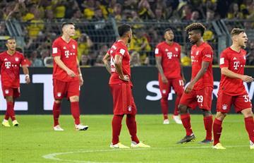 ¡Cuánta falta le hace James! Bayern Múnich perdió la Supercopa de Alemania con Borussia Dortmund