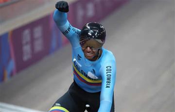 Oro para Colombia en ciclismo de pista