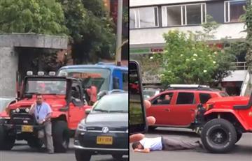 [VIDEO] ¿Qué pasó con el hombre que atropelló a conductor del SITP en Bogotá?