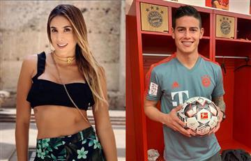 ¿Daniela Ospina con James Rodríguez? La modelo viajó a Madrid con su hija Salomé