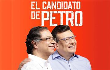 """""""No teníamos opción"""": Petro sobre candidatura de Hollman Morris a la Alcaldía de Bogotá"""