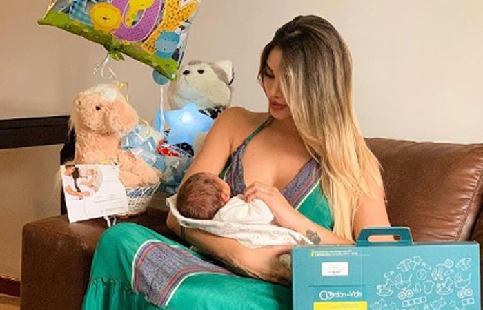 Por un video, seguidores de Melina Ramírez piensan que su hijo está enfermo