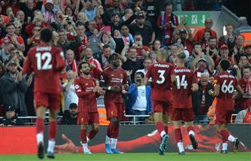 ¡Empezó con todo! Liverpool goleó en su debut de la Premier League