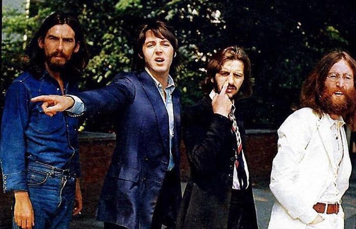 La foto más famosa de la portada del Abbey Road de The Beatles. Foto: Twitter