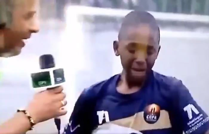 Copa Teleantioquia llanto niño
