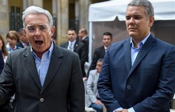 """Uribe defiende a Duque de medio que lo llamó """"subpresidente"""""""