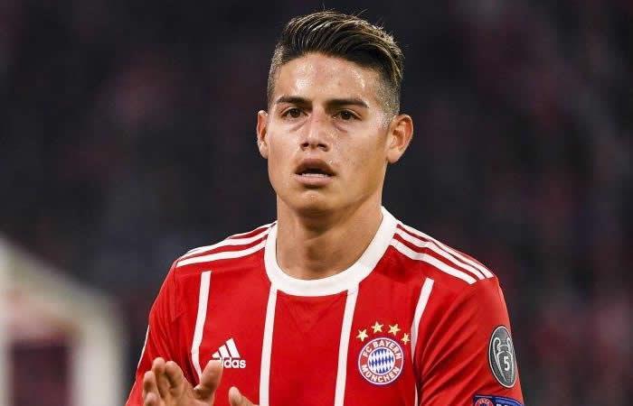 Los complicados días de James en el Bayern y el Madrid