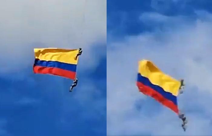 Mueren en Colombia dos militares al caer de un helicóptero