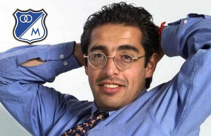 Jaime Garzón hincha de Millonarios