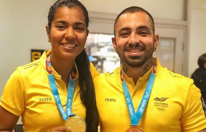 Participantes Desafío Diego Fernando Lenis Daniela Arias medallas Juegos Panamericanos