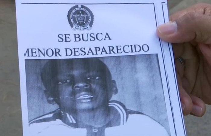 Autoridades buscan niño desaparecido en Medellín