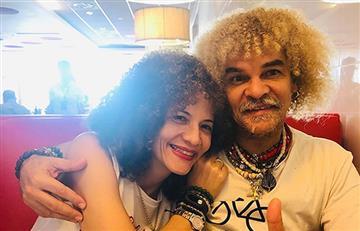 Sugestiva foto de la esposa del 'Pibe Valderrama' enciende las redes sociales